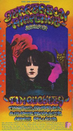 Jefferson Airplane at Grande Ballroom 11/21-24/68 by Carl Lundgren & Jerry Younkins & Donnie Dope