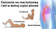 6 najskuteczniejszych ćwiczeń na rwę kulszową i ból w dolnej części pleców