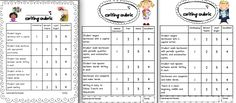 First Grade Writing Rubric Template | clipart by scrappindoodles; frames by KPM doodles and fancydogstudios