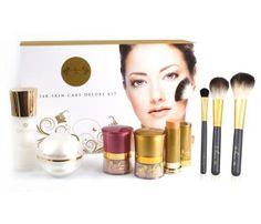 Amore Mio Cosmetics Mineral Cosmetic Deluxe Kit 8Count ** You can get additional details at the image link.