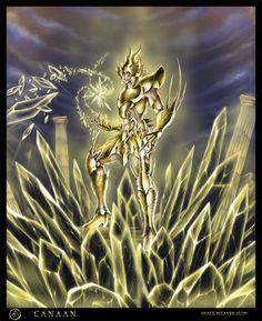 Saint Seiya - Gold Saint Leo no Canaan by SpaceWeaver