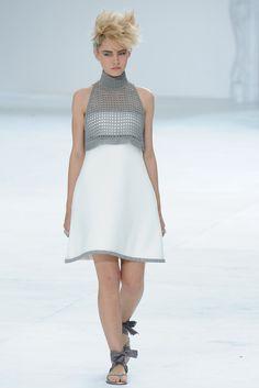 Chanel Fall 2014 Couture Fashion Show - Sasha Luss (Elite)