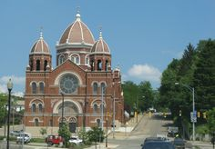 My church and it's beautiful. St. Nicholas Church Zanesville , Ohio.