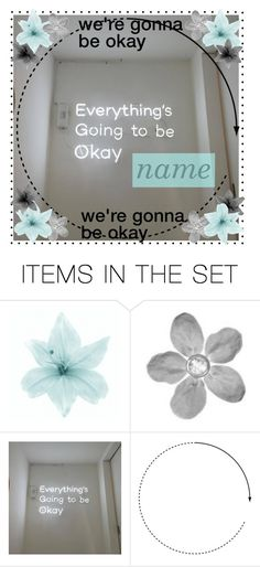 """""""open icon •we're gonna be okay•"""" by themusiccookie ❤ liked on Polyvore featuring art"""