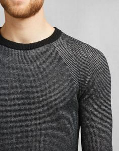aad84270a59 A grey crewneck jumper in a luxurious wool blend. Shop the Nelson Crewneck  from Belstaff US.