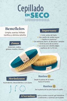 The benefits for dry brushing skin - Women's Life Health And Beauty Tips, Beauty Make Up, Beauty Care, Diy Beauty, Beauty Skin, Beauty Hacks, Dry Brushing Skin, Dry Skin, Body Hacks