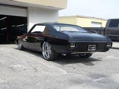 1970 Chevrolet Chevelle pro touring Miranda Built custom everything air ride 2008 SEMA LS2. GFG wheels