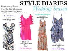 Dresses for summer weddings #shopishara