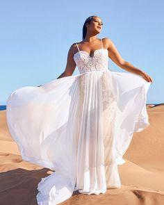 39 Plus-Size Wedding Dresses: A Jaw-Dropping Guide ❤ plus size wedding dresses with spaghetti straps lace sweetheart pronovias #weddingforward #wedding #bride #weddingoutfit #bridaloutfit #weddinggown