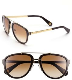 Marc Jacobs 56mm Aviator Sunglasses on shopstyle.com