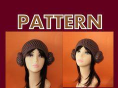 princess leia crochet hat pattern
