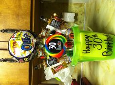 30th birthday gift bucket for my brother!!