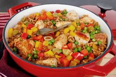 Cuban arroz con pollo recipe.  ..tasteofcuba.com.  great place for Cuban recipes