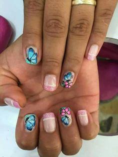 Chevron Nails, Mac, Beauty, Work Nails, Short Nail Manicure, Cute Nails, Nail Designs, Nail Decorations, Nail Art