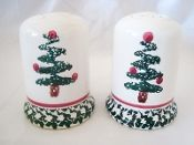 Furio Christmas Tree Salt Pepper Shaker Set