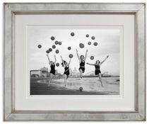 Art Gallery at Maine Cottage | Balloon Dancers