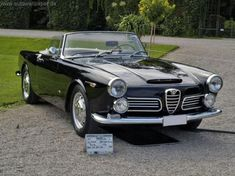 Ours was yellow.  We had more fun in that car than should have been legal.  1961 Alfa Romeo 2600 Spider
