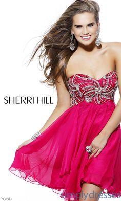 Sherri Hill 3846 Short Dress SH-3846
