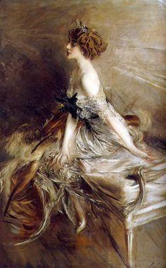 La Principessa Marthe Lucie Bibesco, 1911, Giovanni Boldini.