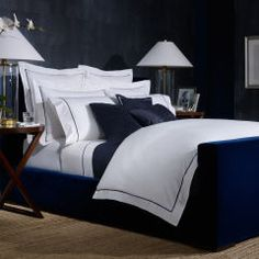 Polo Navy Palmer Collection - Ralph Lauren Home Bedding Collections - RalphLauren.com
