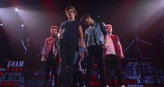 Otra que le sucedió al carilindo de 1D: su compañero Niall... ¡le bajó los pantalones delante de todos sus fans!