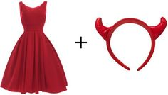8 Last minute costume ideas that may only require a trip to target | Devil - www.Xperimentsinliving