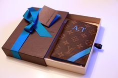 Louis Vuitton Monogrammed Passport Case. - $295. WANT.