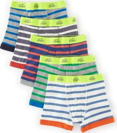 Mini Boden 5 Pack Boxers Stripe Mini Boden, Stripe 34574756 Comfortable, hardwearing cotton in a choice of prints or stripes in bright colours. http://www.comparestoreprices.co.uk/baby-clothing/mini-boden-5-pack-boxers-stripe-mini-boden-stripe-34574756.asp