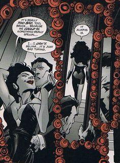 Catwoman and bat man | Catwoman Cameo: Batman #600: Bat/Cat Week