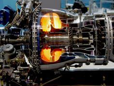 The engine of airplane. A aircraft jet engine detail , Micro Jet Engine, Jet Engine Parts, Aerospace Engineering, Mechanical Engineering, Aircraft Maintenance Engineer, Aviation Mechanic, Reactor, Gas Turbine, Jet Turbine Engine