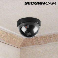 Cámara de Seguridad Simulada Domo Securitcam - 259