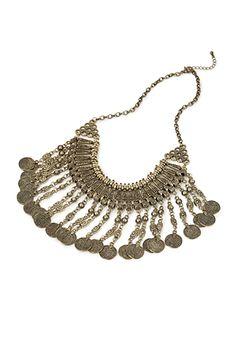 Coin Fringe Necklace   FOREVER21 - 1000057061
