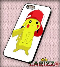 "pokemon pikachu for iphone 4/4s/5/5s/5c/6/6 , Samsung S3/S4/S5/S6, iPad 2/3/4/Air/Mini, iPod 4/5, Samsung Note 3/4 Case ""007"""