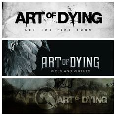 List your top song off each one of Art of Dying's 3 records.  -Self Titled: -Vices And Virtues: -Let The Fire Burn (The Lost Acoustic Record):  https://itunes.apple.com/us/artist/art-of-dying/id78906565 Go!