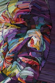 Utilizing vibrantly colored paper, artist and illustratorYulia Brodskaya (previously here and here), creates unique three-dimensional portraits that reflect the beauty found in old age. Each work contains a palette of colors that remain at the center of her focus, recently concentrating on prec