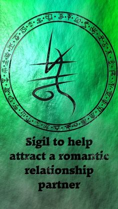 Sigil to help attract a romantic relationship partner Sigil requests are closed. For more of my sigils go here:. Wiccan Symbols, Magic Symbols, Wiccan Spells, Magic Spells, Magick, Witchcraft, Wicca Runes, Pentacle, Witch Spell