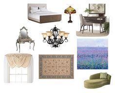 main bedroom by breeganza on Polyvore featuring interior, interiors, interior design, maison, home decor, interior decorating, Tribecca Home, Warehouse of Tiffany, Balta and Royal Velvet