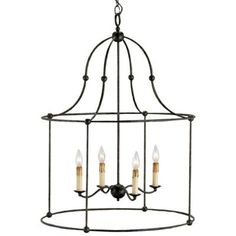 Fitzjames Lantern by Currey and Company at Lumens.com