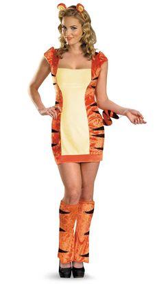 2c3a2aee2 Sassy Winnie The Pooh Tigger Adult Costume from BuyCostumes.com Fantasias  Legais