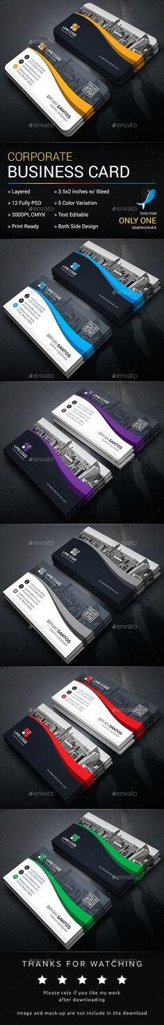 Business Card Template PSD. Download here: https://graphicriver.net/item/business-card/17445168?ref=ksioks