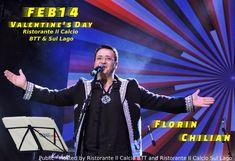 14 feb  Valentine's Day la Ristorante Il Calcio BTT & Sul Lago Florin Chilian
