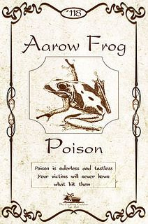 Poison-Aarow-Frog-Label | Flickr - Photo Sharing!