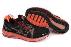Mens Nike LunarMax Black Orange Shoes