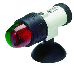Innovative Lighting Marine Portable LED Navigation Light- Bow Light, Suction Cup at Lowe's. Innovative Lighting's Marine Portable LED Navigation Light requires four AA batteries (not included). Features a molded one piece white body and shock Kayaks, Canoes, Kayak Lights, Bow Light, Light Led, Kayak Accessories, Inflatable Kayak, Boat Stuff, Canisters