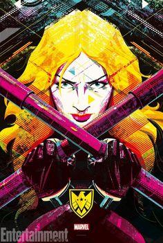 agents shield mockingbird poster season art