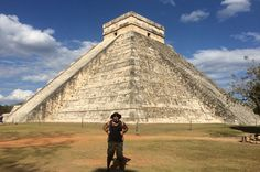 One of the 7 Wonders of the World.... Chichen Itza