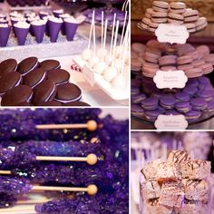 The most amazing sweet table - ever! Designed by Luscious Layers Bakery & beautifully photographed by @Dawn Roscoe.... two of my favorites!