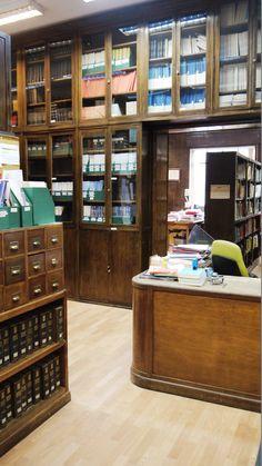 Entrada a la biblioteca
