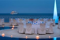 Méridien Beach Plaza Monaco: Event by the Pool