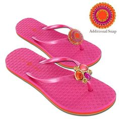 Kelli Flip-Flop with Additional Snap $41.99